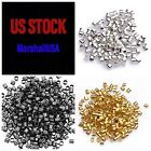 Kyпить 200PCS Crimp Beads Tubes Silver/gold/gunmetal 1.5 or 2 mm jewelry necklace craft на еВаy.соm