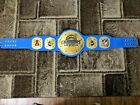 Chargers Los Angeles Champions Wrestling Leather Belt 4MM Plates Replica Adults $213.11 USD on eBay