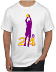 Kobe Bryant T-Shirt - SUPERSTAR Los Angeles Lakers NBA Uniform Jersey #24 #8 on eBay