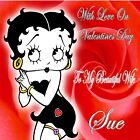 Betty Boop Personalised Valentine Wife/Girlfriend Greeting Card  V5 £3.95 GBP on eBay