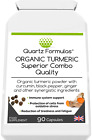 ORGANIC TURMERIC Superior Combo - with black pepper, zinc and vitamin B6