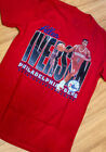 Allen Iverson Philadelphia 76ers Red Short Sleeve Women Mens S M L 234XL  DD2043 on eBay
