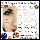 Nose Lip Ear Ring Hoop Rings Body Piercing Ear Rings Earring Stud Aus Jeweller
