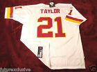 #21 SEAN TAYLOR WASHINGTON REDSKINS WHITE AWAY NFL SEWN JERSEY - CHOOSE SIZE $75.0 USD on eBay