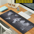 Large Size World Map Pattern Laptop Computer Gaming Mat Speed Game Mouse