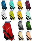 Belly Dancing  Steampunk skirt Half Circle skirts Pleated skirt One Size S 57