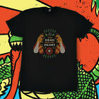 new The Head And The Heart Honeybee Merch concert Tour 2020 T Shirt Gildan B/W image