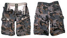 Jet lag Men's Cargo Shorts Bermuda Knee Length Summer Take off 3