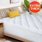Extra-Thick-Pillowtop-Matress-Topper-Perfect-Support-Mattress-Pad-Cover-Deep-New