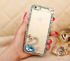 Case For OPPO Glitter Diamond Slim Clear Silicone TPU Shockproof Phone Cover