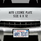 Myrtle Beach SC Vacation License Plate for Auto ATV Motorcycle Bike Wall Sign