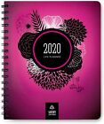 Life Planner & Goal Setting Agenda 2020, by LUCKY Life Tools (Black or Pink)