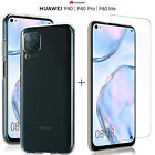 COVER for Huawei P40 Lite / Pro TPU SLIM CASE + 9H TEMPERED GLASS FILM