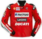 DUCATI Alpinestars Replica Moto GP TEAM 19 LederJacke LeatherJacket LIMITED NEU