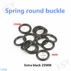Special black 25MM spring round buckle carabiner for sale  Shipping to Ireland