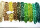 SSF Fly Tying Material Full Flash Every Color 9 Inch Fibers Fishing Tackle Craft