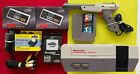 Nintendo Entertainment System NES Action Set 2 Controllers Gun Mario Duck Hunt