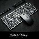 2.4G Wireless Keyboard Mouse Set 10M Transmission 78Keys Slient USB Rechargeable