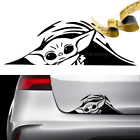 BABY YODA TRUNK PEEK Decal Sticker Hello DARTH STAR WARS Mandalorian Doctor $5.8 USD on eBay