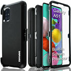 Samsung Galaxy A51 COVRWARE Case 3 layer Armor Rugged Holster Belt Clip Cover