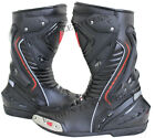 New EV Motorcycle Motorbike Leather Boots