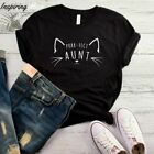 PURR FECT AUNT T-SHIRT, CAT MOM SHIRT, CAT SHIRT, CAT MOM, CAT LOVER GIFT, CAT M