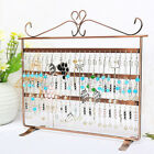 Kyпить 72 Hole Earring Jewelry Necklace Display Rack Metal Stand Holder Organizer  на еВаy.соm