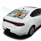 Sticker Bomb Skin  Rear Window See Thru Stickers Perforated for Dodge Dart 2020 $58.5 USD on eBay