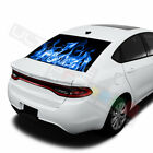 Flames designs  Rear Window See Thru Stickers Perforated for Dodge Dart 2020 $58.5 USD on eBay