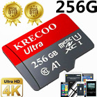 Kyпить 2020 Hot KRECOO 256GB Memory Card 100MB/S 4K Class10 Flash TF Card with Adapter на еВаy.соm