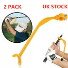Golf Swing Training Aid Tools Practice Guide Corrector Trainer Wrist Arm 2 Pack