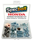 Honda CR500 Top End Engine Bolt Kit CR 500 500R CR500R (Zinc)