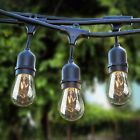 Kyпить Sokani Patio Outdoor String Lights Weatherproof Commercial Grade Great 24FT/48FT на еВаy.соm