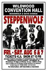 STEPPENWOLF 1971 Wildwood NJ CONVENTION HALL POSTER/SIGN
