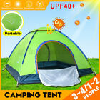 3-4 Person Outdoor Camping Waterproof 4 Season Family Tent Camouflage Hiking New