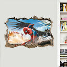 """Removable Wall Sticker Home Decor Birthday Part  """"spiderman Out Of The Wall 3d"""""""