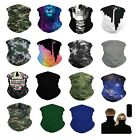 Kyпить (2 Pack Set) Neck Gaiter Neckerchief Bandanna Headband Face bike Mask  на еВаy.соm