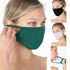 Soft Cotton Face Mask Double Layer Fashionable Reusable Cloth Washable Men Women $19.95 USD on eBay