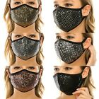Triple Layer Novelty Sequin Face Mask**MADE IN USA** free shipping