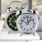 NEW Retro Loud Double Bell Mechanical Key Wound Alarm Clock US
