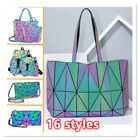 √√Geometric Women Tote Bag Holographich Purses and Handbags Crossbody for Women
