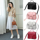 Mini Candy Color Shoulder Bag Wallet Handbag Small Square Pack Pu Leather