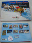 Leanin Tree Santa's Western Route 20 Christmas Holiday Cards Box Envelopes