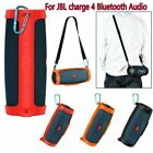 Silicone Storage Carry Case Bag Strap for JBL charge4 Bluetooth Audio Speaker