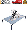Pet Bed with Knitted Fabric Extra Large Raised Cooling Back Great Dane Dog