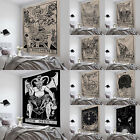 Tarot Tapestry Sun Divination Wall Hanging Mysterious Bedroom Home Decoration