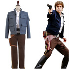 Star Wars Empire Strikes Back Han Solo Outfit Suit COSplay Costume Full Set $94.17 USD on eBay