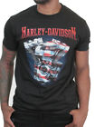 Harley-Davidson Mens USA Freedom Patriotic Engine Black Short Sleeve T-Shirt $14.99 USD on eBay