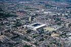 A4 Panoramic View of Tottenham Old White Hart Lane Ground Edmonton c1999