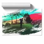 Golf Landscape V2 Poster Print Wall Art Unframed Picture Home Décor